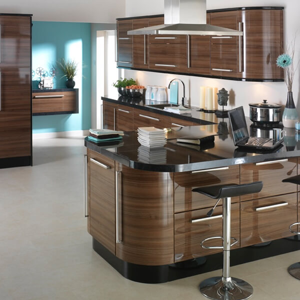 High Gloss Kitchen Island: Find Your Perfect Fitted Kitchen In Huddersfield